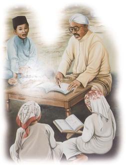 Semoga mereka menjadi pendukung orang tuanya menuju surga...