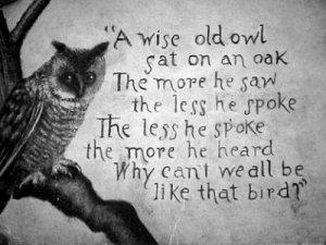 lebih banyak mendengar daripada bicara