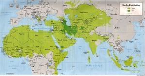 Peta Islam Sunni & Syiah di Dunia