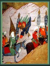 Lukisan Nabi Muhammad saw dan Malaikat Jibril