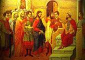 Lukisan - Sahabat Nabi saw menemui pemimpin Kristen Habasyah di Etiopia