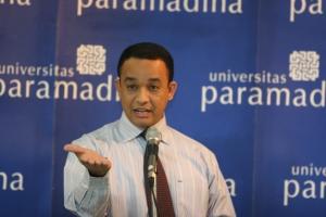 Anies Baswedan - Rektor Universitas Paramadina