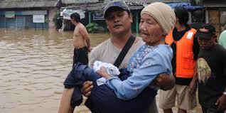 Membantu pengungsi Lansia: mengganggu aktivitas sehari-hari
