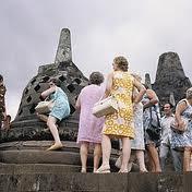 Turis ke Borobudur: hanya 7 jutaan setahun