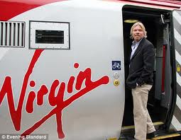 Richard Branson dan pesawat Virgin-nya