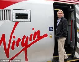 Richard Branson dan pesawat Virgin-nya