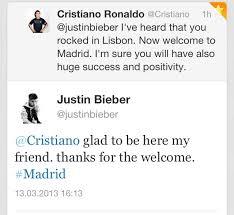 Perbincangan CR7 dan Justin Biber: dua brand yang beken di dua dunia, olahraga dan musik
