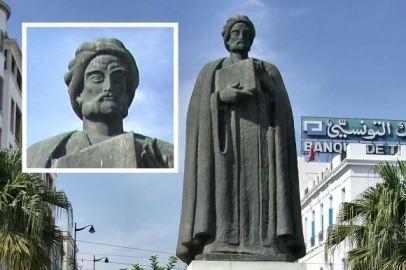 Patung Ibn Khaldun di Tunisia: harta karun