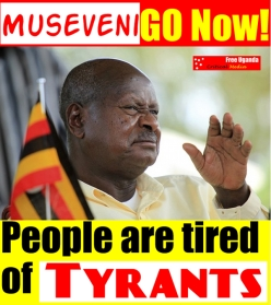 Presiden Uganda Yoweri Museveni: 'dermawan' juga?