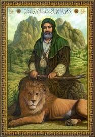 Ali bin Abithalib (as), dikenal sebagai 'singa Allah'