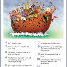Pelajaran dari Kapal Nabi Nuh