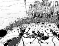 Lukisan Sulaiman dan Semut