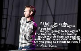 Nick Vujivic: salah seorang yang sukses, meski tanpa lengan dan kaki
