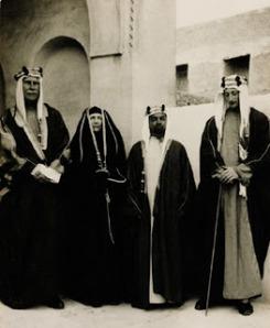 Keluarga Kerajaan Saudi, circa 1938