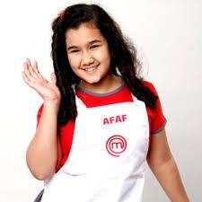 Afaf, suka memasak