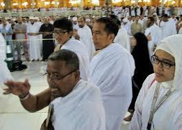Jokowi saat umrah:  sebagai Muslim yang baik mesti melaksanakan pemerintahan yang bersih.
