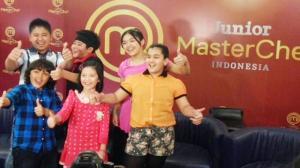 Afaf dan sebagian peserta Master Cheff Junior