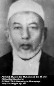 Habib Husain bin Muhammad bin Tohir Al-Haddad: tawadhu'