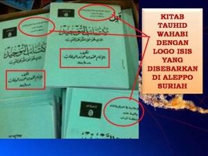 Kitab Tauhid yang disebarkan ISIS di Suriah.