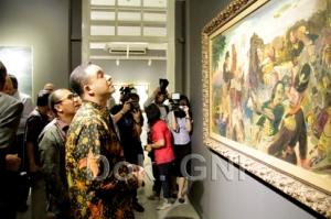 Anies dalam Pembukaan pameran-'Aku Diponegoro', di Galeri Nasional, Jakarta.
