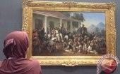 Lukisan tentang P. Diponegoro di Galeri Nasional.