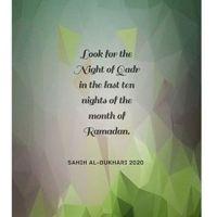 Doa ' Wahai Harapanku' - Akhir Ramadhan