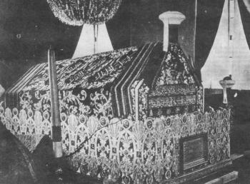 Kuburan Nabi Muhammad saw (foto tahun 1920-an)