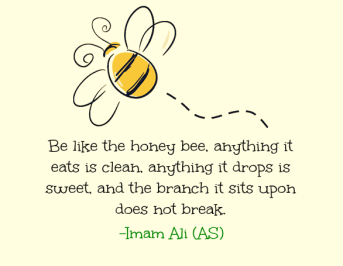 Honey Bee - Ali as