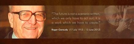 Masa Depan bukanlah skenario yang telah ditulis (untuk kita kemudian hanya tinggal melaksanakannya); Masa Depan adalah Pekerjaan yang harus kita ciptakan (Garaudy).