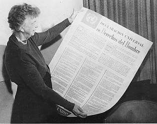 Deklarasi Universal Human Rights - Eleanor Roosevelt Human Rights 10 Des 1948