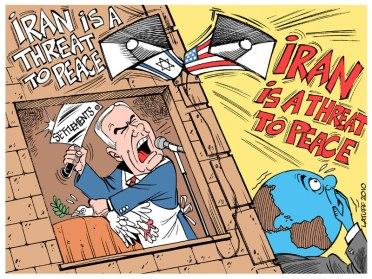 Latuff - Iran sbgai tertuduh