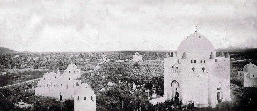 Jannatul-Baqi sebelum dihancurkan pd tahun 1925 atau 1926