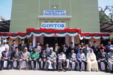 Sheikh Al-Azhar di Gontor