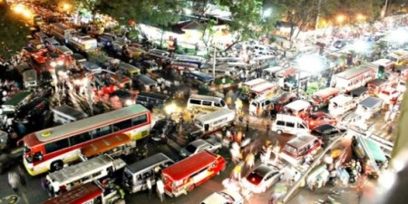 Ruwetnya jalanan Jakarta