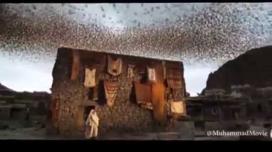 Burung Ababil dalam film Muhammad the Messenger of God