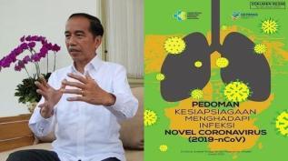 Presiden Jokowi - Sumber Tribune News (2-wni-positif-virus-corona-jokowi-ungkap-indonesia-sudah-siap-siapkan-ratusan-ruang-isolasi-di-rs)
