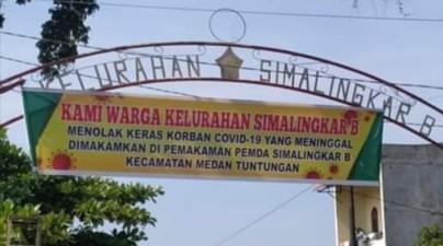 Stigmatisasi korban Corona di Medan
